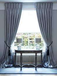 Interlined Twin Pinch Pleat Silk Curtains on Lath \u0026 Fascia ...
