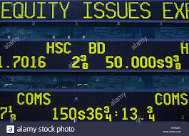 Photo Alamy Tape Board On York Ticker 9999059 Usa Stock Market Prices New -