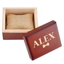 details about personalized wooden retro wedding gift box custom watch box groomsmen xmas gift