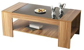 modern wood coffee table tables contemporary furniture black designs