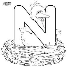 letter n coloring page pages 7 best images on kindergarten in printable d sheets