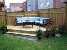 Small Picture Small Backyard Design Ideas On A Budget