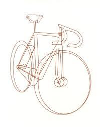 Drawn bike bycicle 87