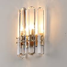 New Modern Crystal Wall Lights Lustre Wandlampen Ac110v 220v