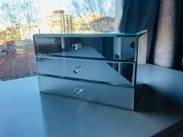 mirrored 3 drawer jewelry box other