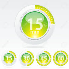 How To Make A One Minute Timer Vector Timer Easy Change Time Every One Minute Royalty Free