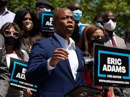 Eric Adams Gets NYC Mayoral Campaign ...