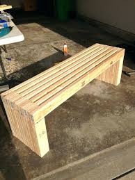 Long Bench Seat With Storage Cushion Outdoor Metal