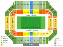 Stanford Basketball Seating Chart California Golden Bears At Stanford Cardinal Football
