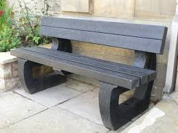 recycled plastic garden bench 3 seater