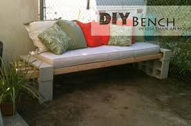 Bricks furniture Store All You Need Is Four Wooden Beams And Some Bricks All Topped With Cushion And Fluffy Pillows Designtaxi Make Your Own Garden Furniture Diy Ideas Apartment Geeks