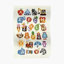 The international phonetic alphabet (ipa) is an alphabetic system of phonetic notation based primarily on the latin script. Alphabet Posters Redbubble