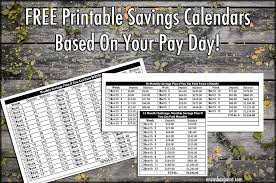 If You Get Paid Semi Monthly 52 Weeks Savings Challenge Based On When You Get Paid