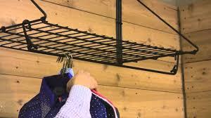Fold Up Shelf Easy Upar Fold Up Hanging Shelf From Schneiders Youtube