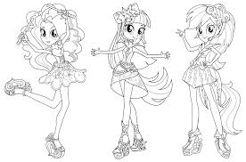 equestria girls coloring pages. Plain Equestria My Equestria Girl Rainbow Rocks Inside Girls Coloring Pages E