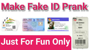 pan Adhar Id Android Fake driving Make Prank To How App Card With License Card