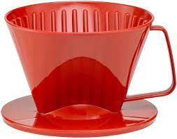 That is a possibility with every metallic filter. Amazon Com Hic Coffee Filter Cone Red Number 1 Size Brews 1 To 2 Cups Kitchen Dining