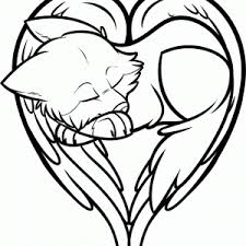 Small Picture Hearts Wings Coloring Pages Only Heartswingscoloringpages adult