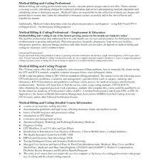 Medical Billing And Coding Resume Medical Coding Resume Format ...