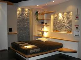 Decor Stone Wall Design Architecture and Home Design Modern bedroom with natural stone 29