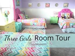 Shared Girls Bedroom Three Girls Room Tourjpg
