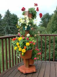 Small Picture Best 20 Flower pot tower ideas on Pinterest Stacked flower pots