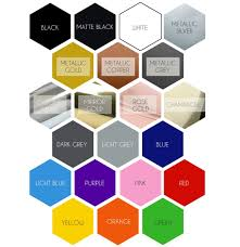Colour Chart Quality Pantry And Home Organisation Labels
