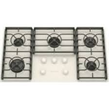 kitchenaid kgcc566rww 36 sealed burner gas cooktop with gas on glass cooktop surface electronic ignition