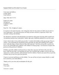 Best Ideas of Child Care Cover Letter No Experience Australia For Letter  Template