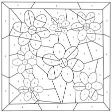 Please note that this digital download includes all seven of the preschool worksheets. Mother S Day Color By Number Free Printable Coloring Pages
