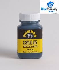 fiebing s acrylic dye quick drying water resistant flexible leather paint 2 oz