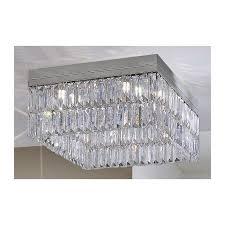 kolarz prisma square crystal chandelier