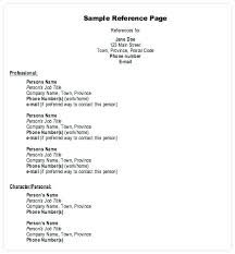 Examples Of Resume References Resume Reference Format Examples ...