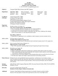 Pilot Resume Examples Gallery of Pilot Resume Template 32