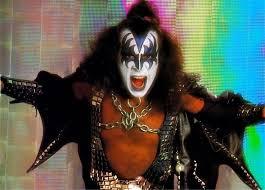 gene simmons kiss hair. gene simmons kiss, classic rock, hot band, new york city ny, music, 40 years, sweden, bass, army kiss hair