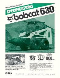 designing a new breed of skid steer loaders bobcat blog bobcat 630 and 632 specs 1980