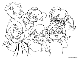 Small Picture alvin and the chipmunks and chipettes s8fa2 Coloring pages Printable