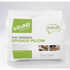 Ipod Pillow Silentnight Sound Asleep Pillow At Wilkocom