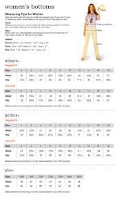 Womens Pants Size Conversion To Mens Images