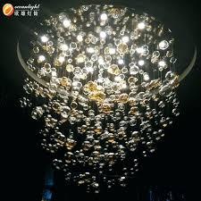glass ball light fixture glass orb lighting hanging glass regarding glass ball chandelier inspirations 14
