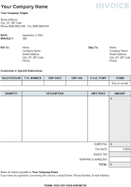 Excel Sales Invoice Template Invoice Templates Excel Free Download Apcc2017