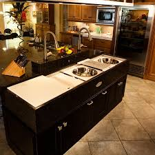 Small Granite Kitchen Table Small Kitchen Island With Sink Folding Wall Lights Brown Modern