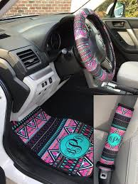 girly car mats aztec car seat covers set of two front seat covers tribal