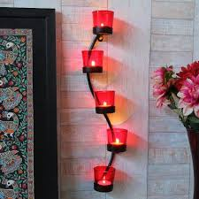 buy shaz living charming votive candle holder wall decor online in