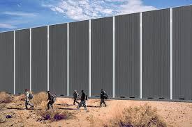 Border Wall Design Concepts Estamos Buscando A Border Wall Installation Paul Turounet