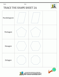Preschool worksheets age 4 well portrayal name activities shape ...