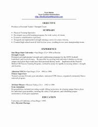 Fitness Instructor Resume Sample Fitness Trainer Resume Format Best Fitness And Personal Trainer 19