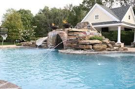 inground swimming pools inground pools with waterslides29 inground