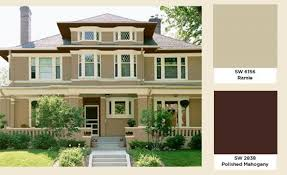 exterior paint colors with light brown roof. house colors that compliment a dark brown roof - google search exterior paint with light e
