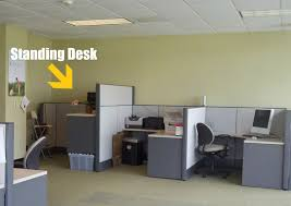 office cubicle designs. Accessories And Furniture Standing Home Office Desk. Building Design. Space Cubicle Designs
